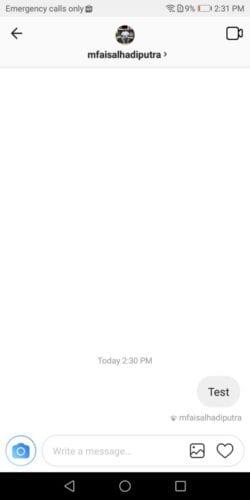 cara video call instagram