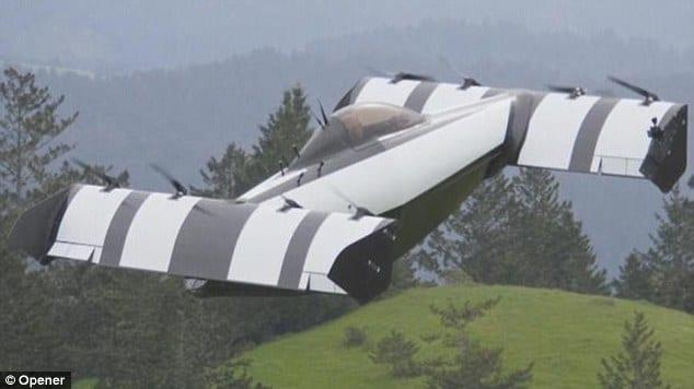Tak Mau Kalah, Startup Asal Kanada Ikutan Bikin Mobil Terbang