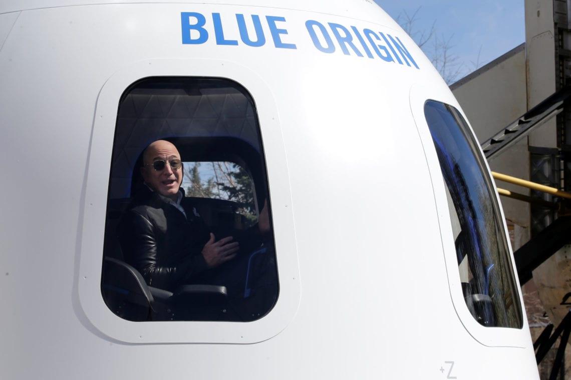 Penumpang Blue Origin