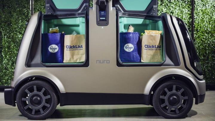 Mobil Otonom Ini Antarkan Pesanan Belanjaan ke Rumah