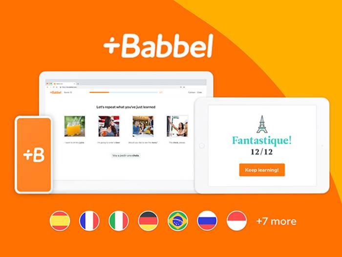 aplikasi belajar bahasa asing babbel