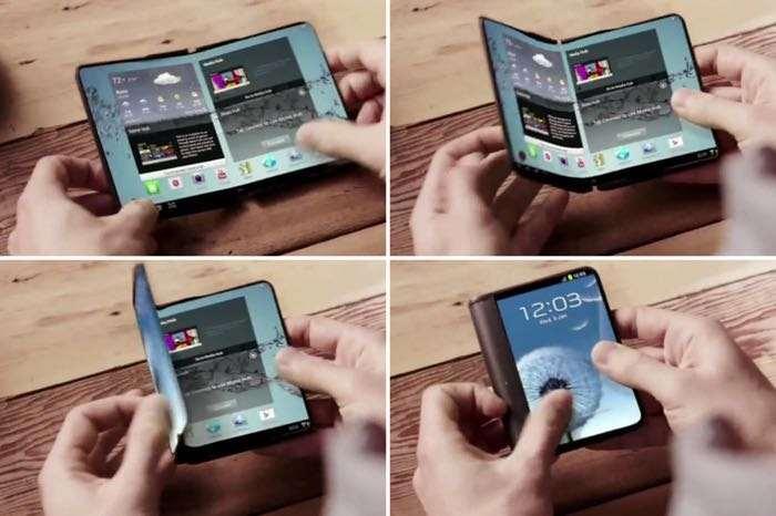 Layar Galaxy X Tidak Sepenuhnya Bisa Dilipat?