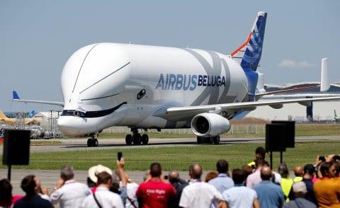 Unik! Airbus Luncurkan Pesawat Mirip Ikan Paus