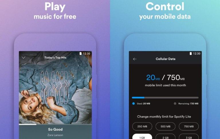 Minim Fitur, Seperti Ini Tampilan Spotify Lite