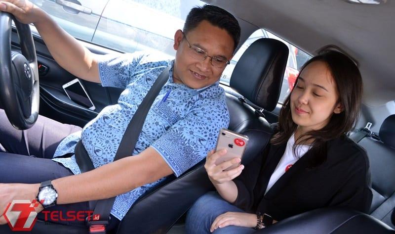 Bayar Taksi Pakai aplikasi