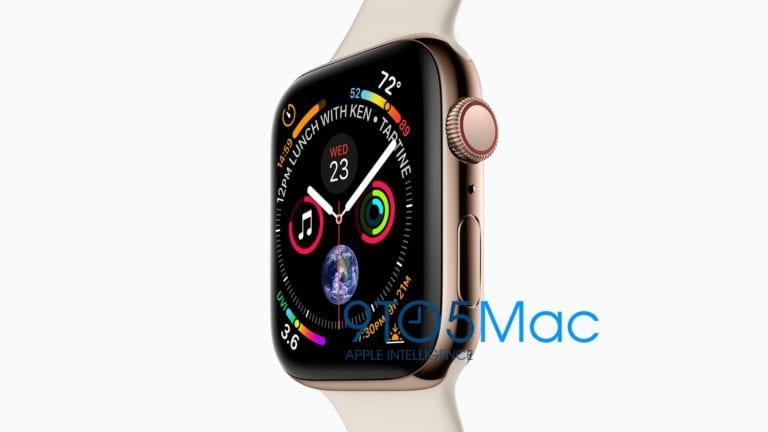 Desain Apple Watch Series 4 Terungkap, Ukurannya Lebih Besar