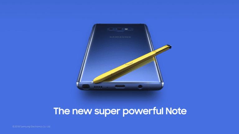 Upps! Samsung Tak Sengaja Pamer Desain Galaxy Note 9
