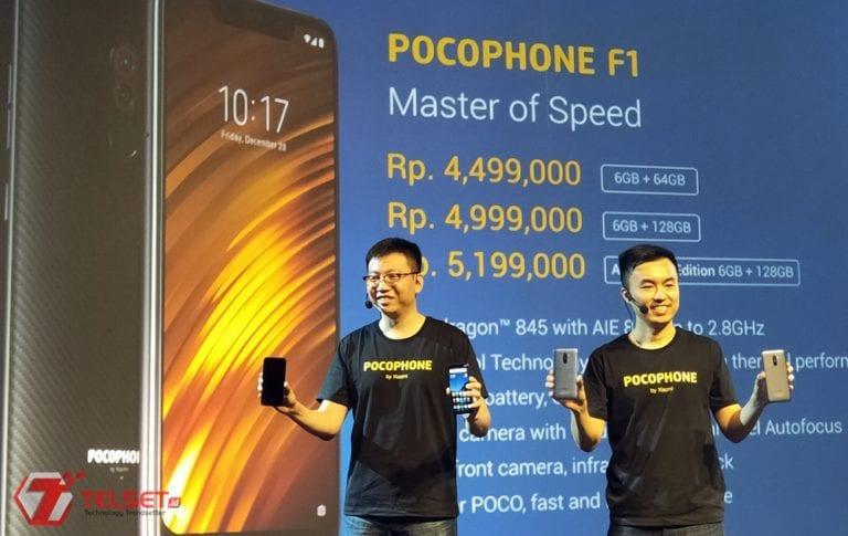 Pocophone F1 Dirilis di Indonesia, Pakai Snapdragon 845