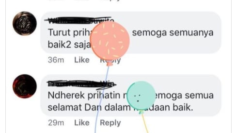 Facebook Minta Maaf Ada Balon di Ucapan Duka Gempa Lombok