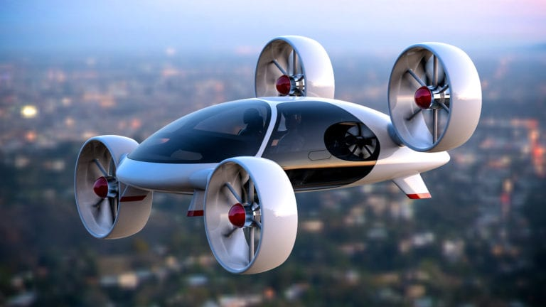 Jepang Gandeng 21 Perusahaan Garap Mobil Terbang