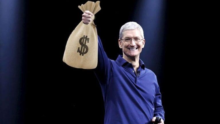 Cetak Sejarah, Kini Apple Bernilai Rp 14 Ribu Triliun