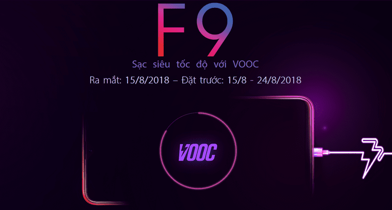 Peluncuran Oppo F9