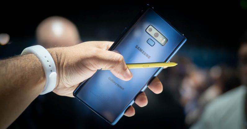 fitur Galaxy Note 9