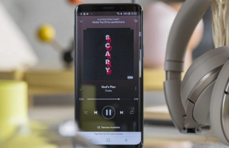 Spotify Jadi Aplikasi Bawaan di Perangkat Samsung