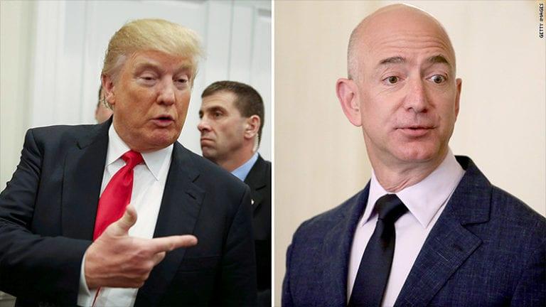 Jeff Bezos: Seharusnya Trump Senang Dikritik Media
