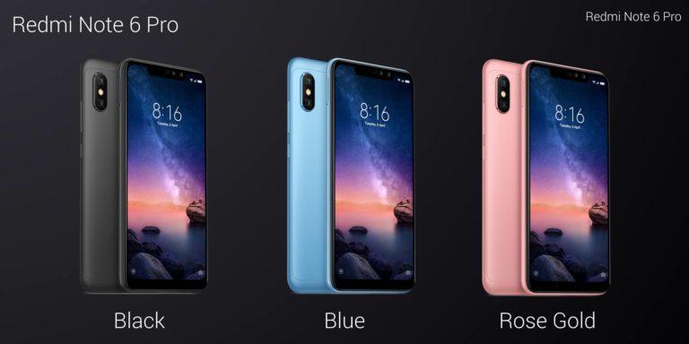 Xiaomi Luncurkan Redmi Note 6 Pro dengan Banyak Peningkatan