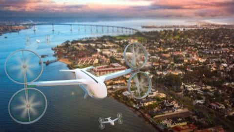 Uber Eats akan Kirim Makanan dengan Drone