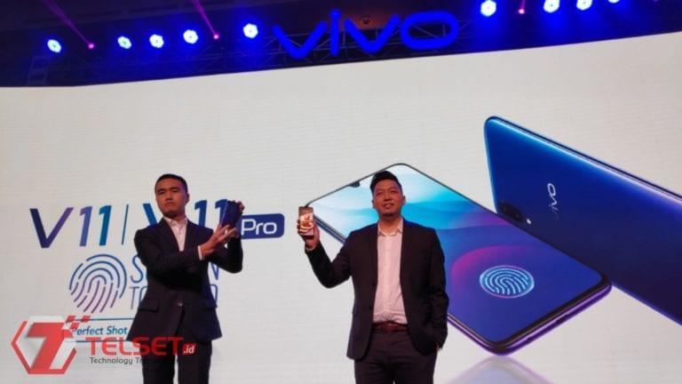 Penuh Inovasi, Vivo V11 Pro Resmi Diperkenalkan di Indonesia