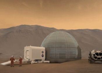 Pemukiman di Mars