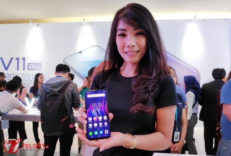 Hands-on Vivo V11 Pro: In-Display Fingerprint Pertama di Indonesia