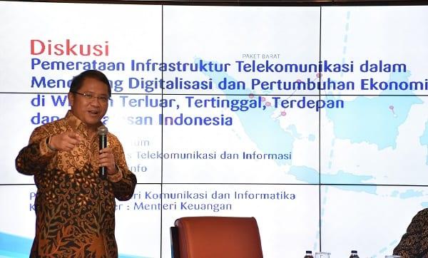 Menkominfo: Pemerataan Akses Telekomunikasi Untuk SDM