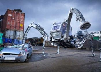 robot berjalan terbesar di dunia