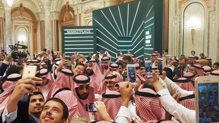 Asyik Selfie-selfie, Putra Mahkota Arab Tuai Kritik