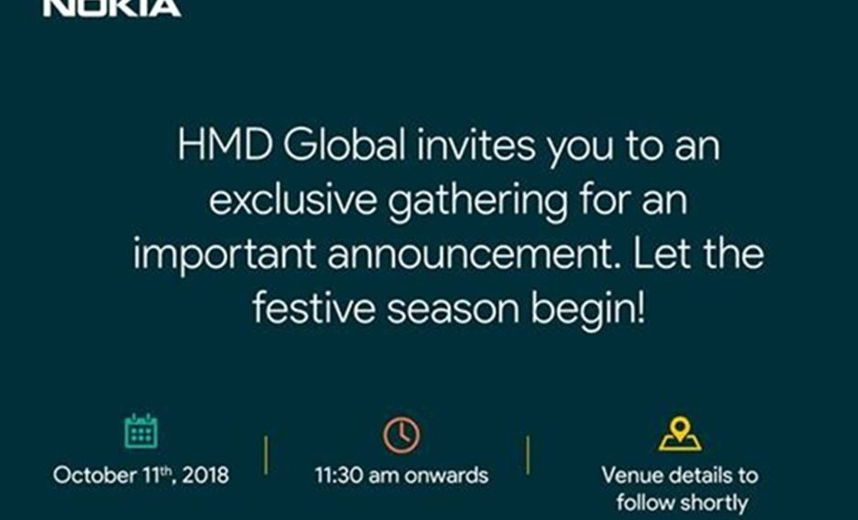 HMD Gelar Acara pada 11 Oktober 2018, Rilis Produk Baru?