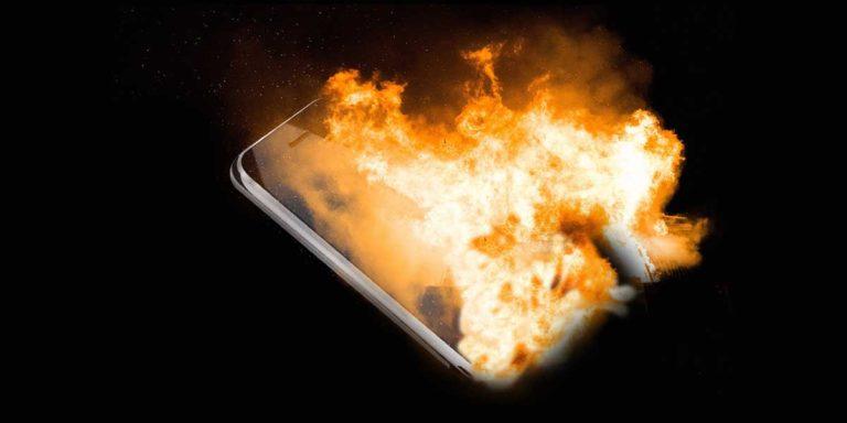 Hati-hati! Ini 3 Penyebab Smartphone Meledak dan Terbakar