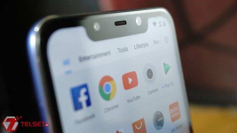 Cara Hilangkan Notch Pocophone F1 versi Android Pie