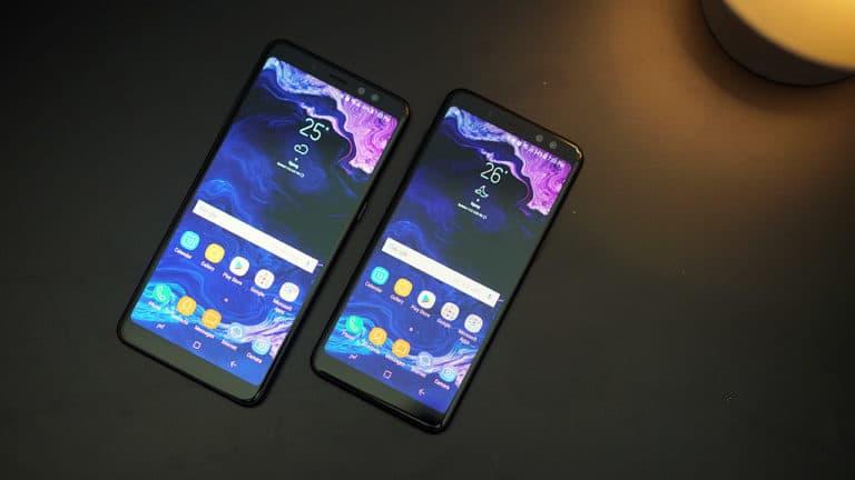 Galaxy A7 dan A9 (2018)