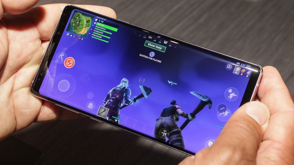 Smartphone gaming Samsung