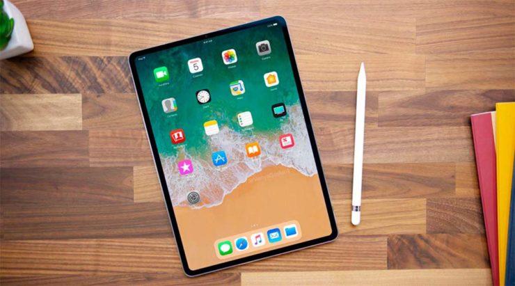 Desain iPad Pro 2018