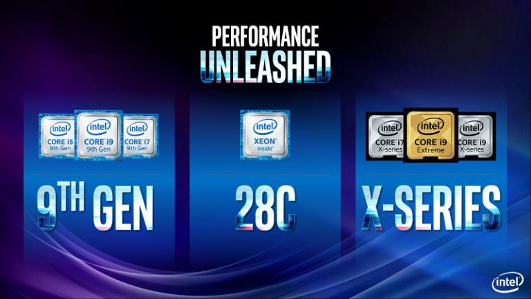 Intel Rilis 8 Prosesor Generasi ke-9 untuk Kreator Konten