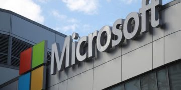 A Microsoft logo is seen in Los Angeles, California U.S. November 7, 2017. REUTERS/Lucy Nicholson