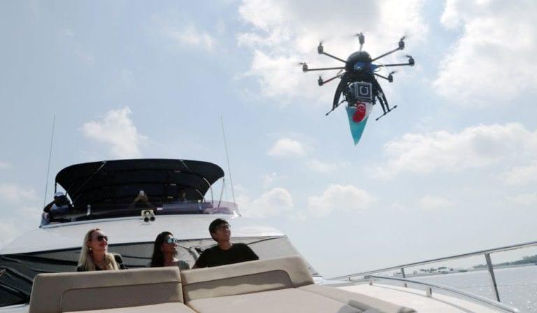Tahun 2021, Uber Antar Makanan Pakai Drone