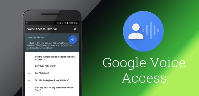 Google Bikin Voice Access untuk Pengguna Disabilitas