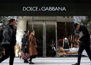 Posting Iklan Rasis, Dolce & Gabbana Hilang dari E-Commerce Cina