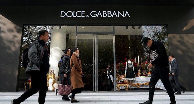Posting Iklan Rasis, Dolce & Gabbana Hilang dari E-Commerce China