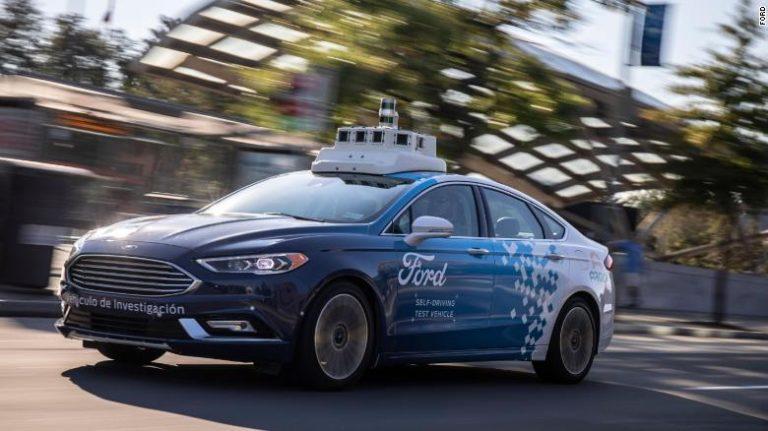 Perkawinan Ford dan Baidu Lahirkan Mobil Otonom
