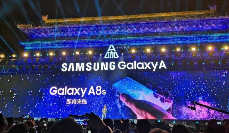 Samsung Galaxy A8s akan Gunakan Layar Infinity O?