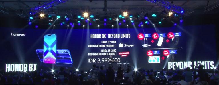 Andalkan Kirin 710 dan Dual Kamera, Ini Dia Harga Honor 8X