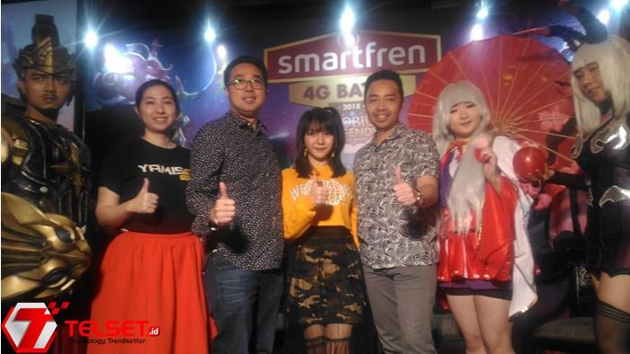 Gamers Siap-siap! Smartfren Gelar Turnamen Mobile Legend Nasional