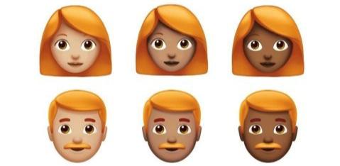 Yeay! Ginger Emoji Kini Tersedia Bagi Pengguna iPhone