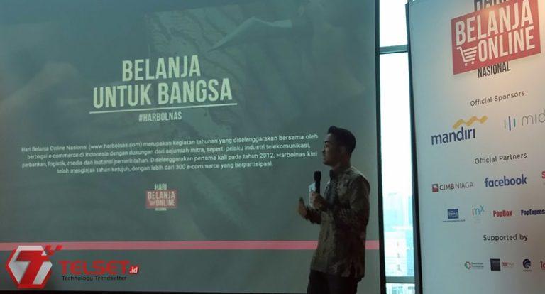 Harbolnas 2018 Didedikasikan untuk Produk Lokal Indonesia