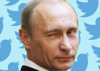 akun Twitter Vladimir Putin