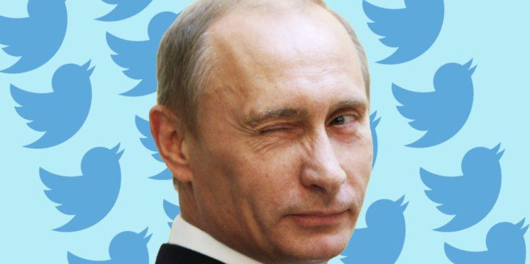 Waduh, Akun Twitter Vladimir Putin Diblokir