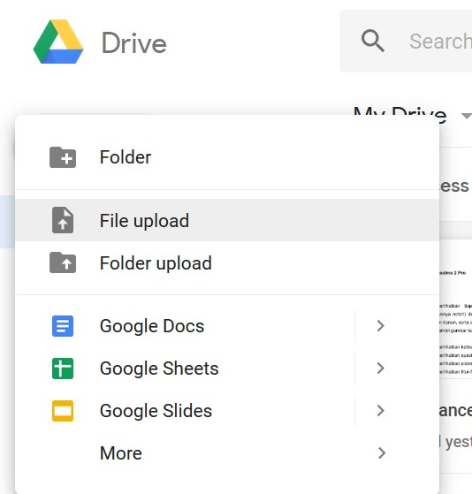 21+ Cara Mengirim File Foto Lewat Google Drive paling mudah
