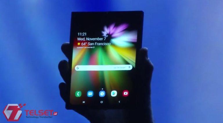 Siap-siap! Smartphone Lipat Samsung akan Dijual Tahun Depan