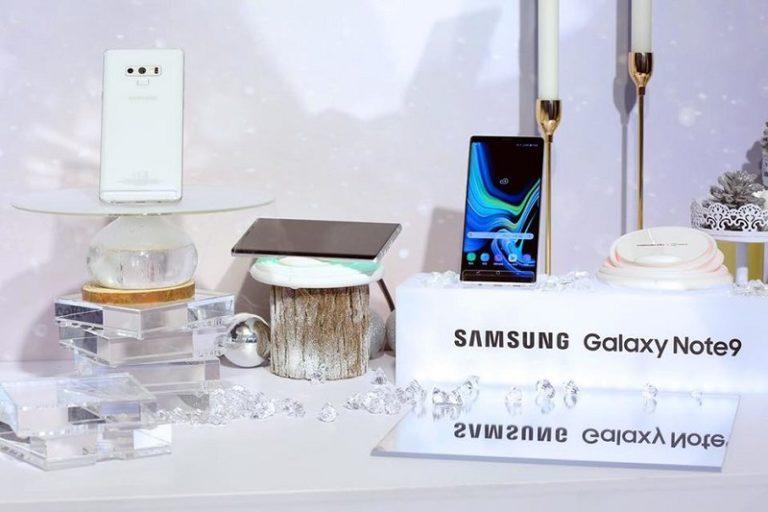 Ini Penampakan Resmi Samsung Galaxy Note 9 Putih